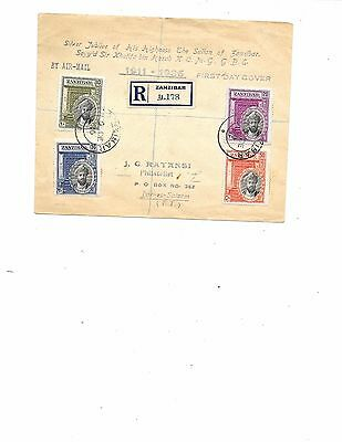 Stamps of Zanzibar  1936 First Day Cover