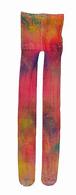 Pleats Please By Issey Miyake Multi Colour Tights Size S