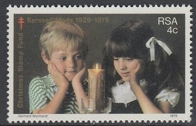 XG-AM887 SOUTH AFRICA IND - Children, 1979 Christmas Stamp Fund MNH Set