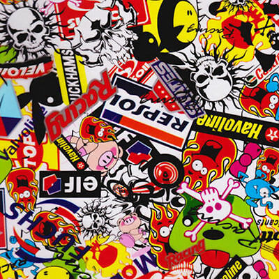 Hydrographic Film Water Transfer Hydrodipping Hydro Dip Sticker Bomb A