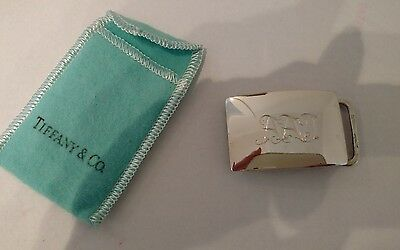 Tiffany & Co. Sterling 925 Belt Buckle Excellent Condition