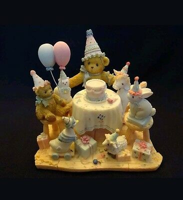 Cherished Teddies AGGIE No Celebration is Complete w/o Closest Friends 104029