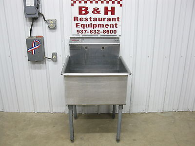 "Eagle 27"" Stainless Steel 1 One Bowl Utility Sink w/ 24"" Bowl"