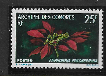 Comoros Island 1970 Mint Stamp
