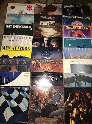 Classic Rock Lp Lot Of 24 Records 70's 80's