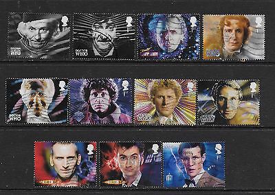 1) GB Stamps  2013 Dr Who Full Set Good Used.