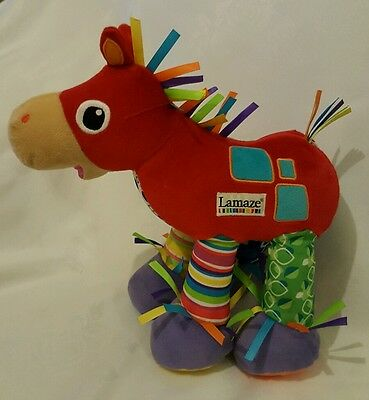 Tomy Lamaze Trotter Horse (Pony) with Sounds.  Battery Operated Baby Soft Toy