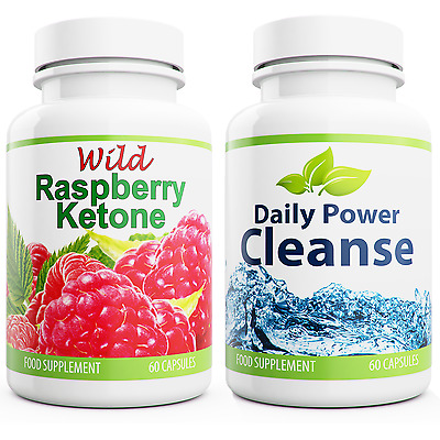 wild raspberry ketone and daily power cleanse new formula diet pills colon - Ultrapur Wild Raspberry Ketone Et Bioslim Daily Power Cleanse