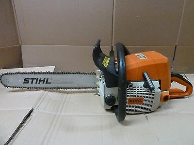 "STIHL 029 super 16 "" bar 56.5 cc 3.8 hp gas power chain saw mid-sized saw"