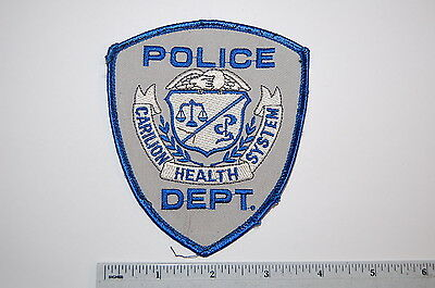 Carilion Health Systems Hospital Police Dept Patch
