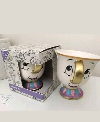 Primark DISNEY CHIP Mug Cup SOLD OUT RARE BEAUTY AND THE BEAST