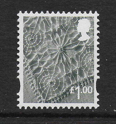 1) GB Stamps 2015. N. Ireland Definitive £1.00 Linen Mint NH.
