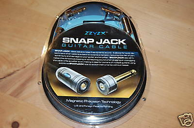 Snap Jack 15Ft Electric Guitar Cable/lead!!straight To Straight Jack Plugs.