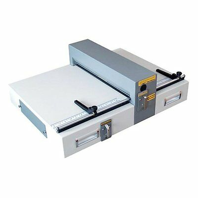 "Electric Creasing and Perforating Machine E460 TABLE TOP 18"" Bindery Equipment"