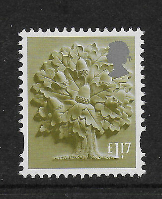 1) GB Stamps 2017 England Definitive £1.17  Mint NH.