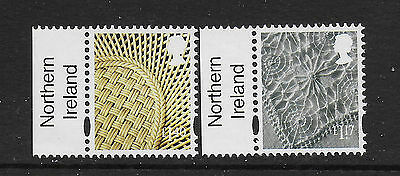 GB Stamps 2017 N.Ireland Definitives £1.17 & £1.40  + Country Tab Mint NH.