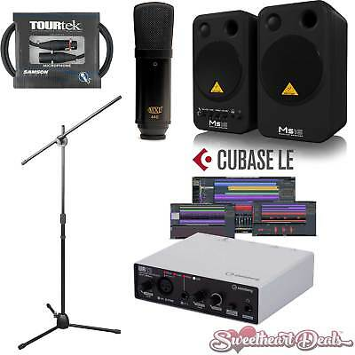 Steinberg UR12 MXL 440 Behringer Pro Home Studio Package Recording Bundle