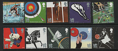 1) GB Stamps 2009 Olympic/Paralympic Games Full Set. Mint NH.