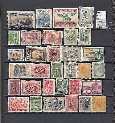 Stamps Lot Greece Mh*  (L18182)