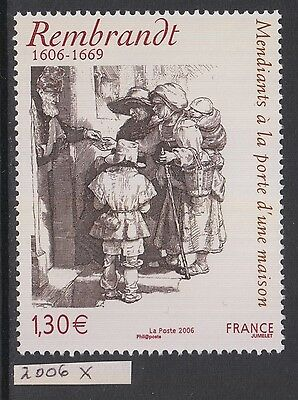 XG-AN143 FRANCE - Paintings, 2006 Rembrandt Anniversary MNH Set