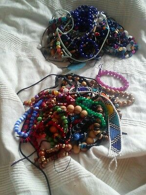 61 modern costume jewellery items including  30 necklaces and 31 bracelets
