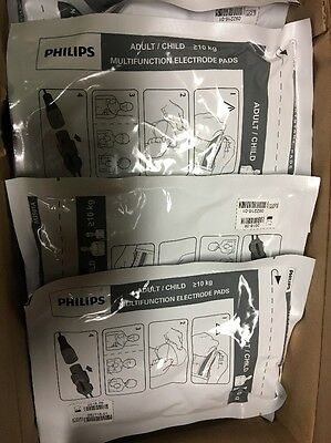 Lot of 37 - Philips M3501A Adult/Child Multifunction Electrode Pads New