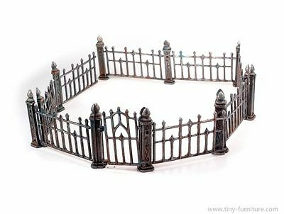 Wrought iron fence (D&D, Mordheim, dungeon terrain, dwarven forge, Frostgrave)
