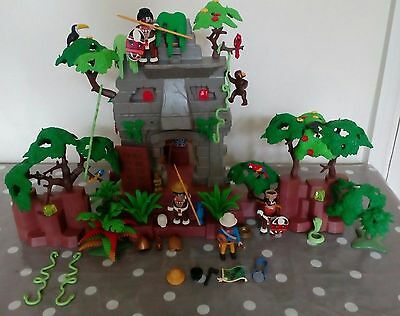 Playmobil 3015 Native jungle Ruin Retired set Very rare