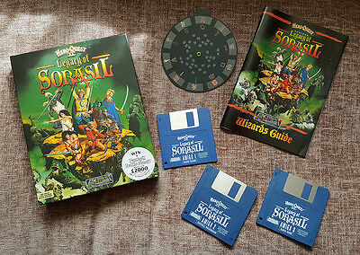 Hero Quest Ii The Legacy Of Soracil -  Vintage Boxed Game For Commodore Amiga