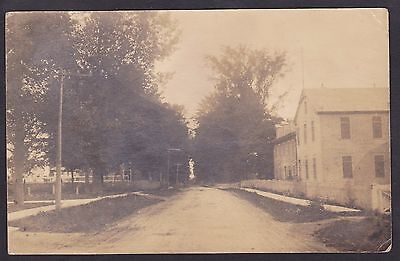 Circa 1920 Real Photo RPPC Postcard Streetview ST. MARTIN Quebec