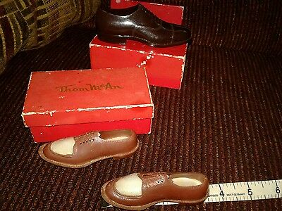 Thom McAn  Shoe  Plastic Salesman's Sample Shoes With Original Box