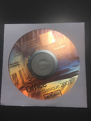 Microsoft Office 2003 Edition Basique + Licence