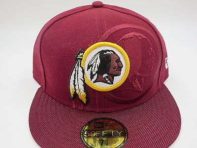 bd713905 WASHINGTON REDSKINS RED New Era NFL 2016 Sideline 59FIFTY Fitted Hat Cap