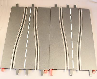 Carrera chicane track  124/132 ref 20516 chicane new but loose ie no box