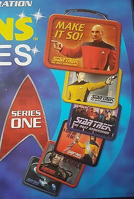 Star Trek TNG TEENY Tins Lunch Boxes set of 6