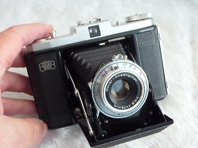 Zeiss Ikon Signal Nettar 518/16 Folding Camera, Novar Anastigmat 75mm f/4.5