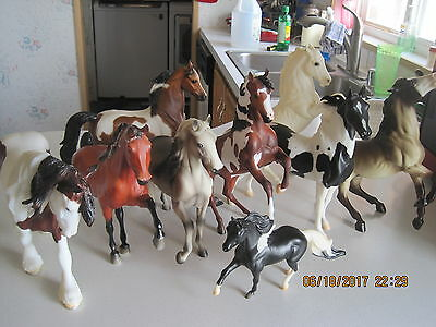 Breyer Horse Lot Herd Dispersal All Must Go Mint Condition Some Vintage