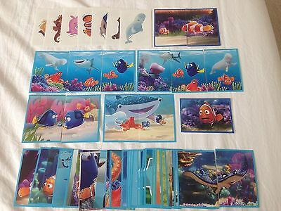 Panini Finding Dory Stickers x50
