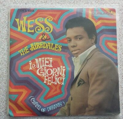 Wess & The Airedales  -  I'll Never Turn My Back On You - 7 Single