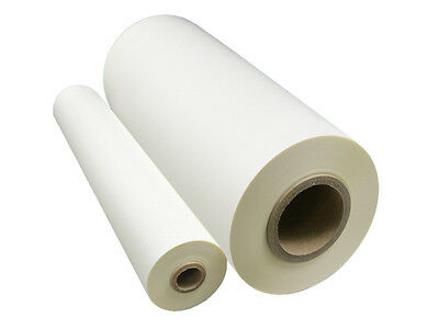 "Matte Laminating Film SOFT TOUCH 25"" x 500ft 1"" Core 30 Micron Offset Printing"