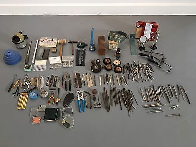 JEWELER TOOLS,PARTS AND PIECES LOT Watchmaker Tools