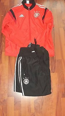 Germany Tracksuit - Official Adidas German Training Wear - Men's Size Med