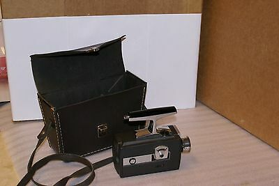 Bell and Howell Focus Matic Auto Load Movie Camera Model 435 WITH LEATHER CASE 8