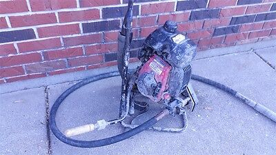 Oztec Bp-50A Backpack Concrete Vibrator Tool Buy It Now Tool Auction
