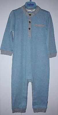 Bnwot Ted Baker Baby Boys Striped All In One Babygrow Age 12-18 Months