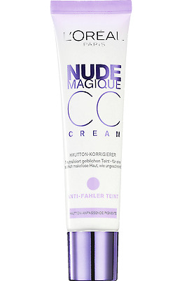 Loreal Nude Magique CC Cream 30ml Anti Dullness Foreign Text New