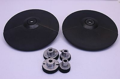 """TWO Roland CY5 8"""" Crash Ride Cymbal V Drums Pad CY-5 for TD 20 12 6 8 25 PD"""