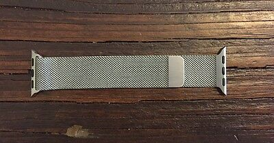  Milanese Loop - 38mm - Stainless Steel - Genuine Apple - Mint Condition
