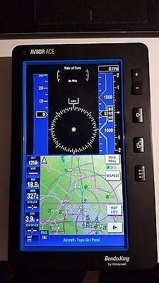BENDIX/KING AV80R ACE portable GPS Moving Map AMERICAS DATABASE Excellent cond.