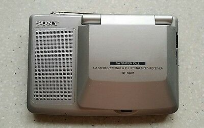 Sony SW07 AM/FM/SSB HF Radio  excellent working order